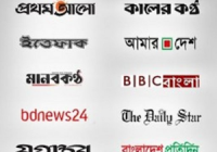 All Bangladeshi Newspapers Link Together