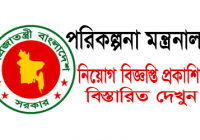 Planning Division Ministry Of Planning Job Circular 2019