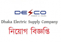 Dhaka Electric Supply Company DESCO Job Circular 2018