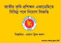 National Agricultural Training Academy NATA Job Circular 2018