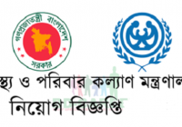 Ministry Of Health And Family Welfare Job Circular 2018 www.mohfw.gov.bd